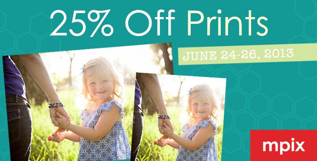 Mpix 25% off all prints sale, from Zenfolio
