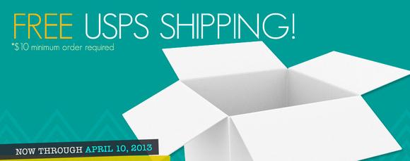 Free USPS shipping image