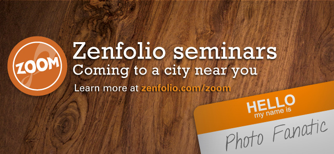 Zenfolio ZOOM Tour 2013